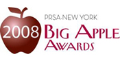PRSA Big Apple Award 2008